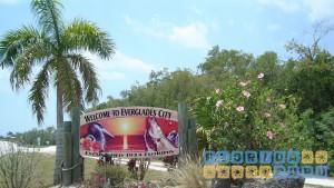 Everglades City - Ortseingang