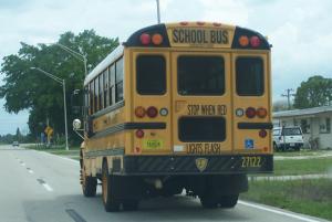Schulbus in Florida