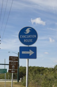 Evacuation Road in Florida