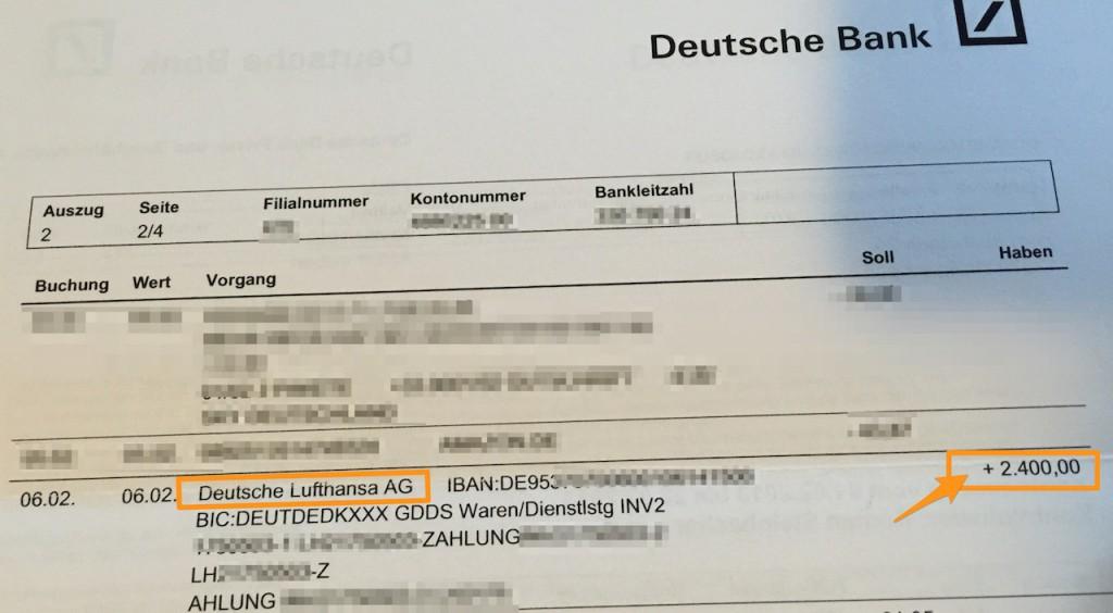 Wie ich mir 2400 Euro von der Lufthansa zurück geholt habe