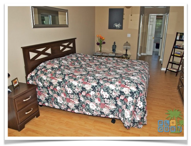 """Florida Ferienhaus in Lehigh Acres """"Causeway"""" mit Blick in das Hauptschlafzimmer"""
