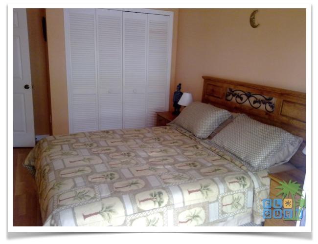 """Florida Ferienhaus in Lehigh Acres """"Causeway"""" mit Blick in das Gästezimmer"""