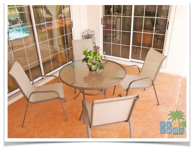 """Florida Ferienhaus in Lehigh Acres """"Causeway"""" mit Blick auf die Terrasse"""