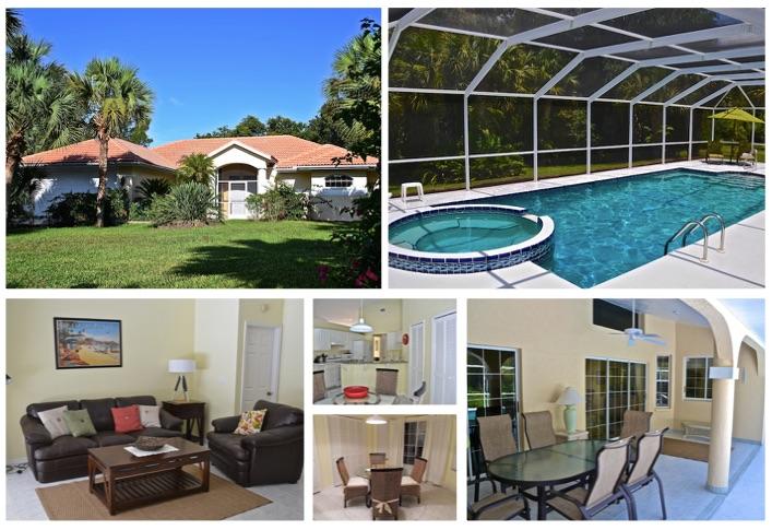 Florida Ferienhaus Palm Garden in Lehigh Acres für bis zu 6 Personen