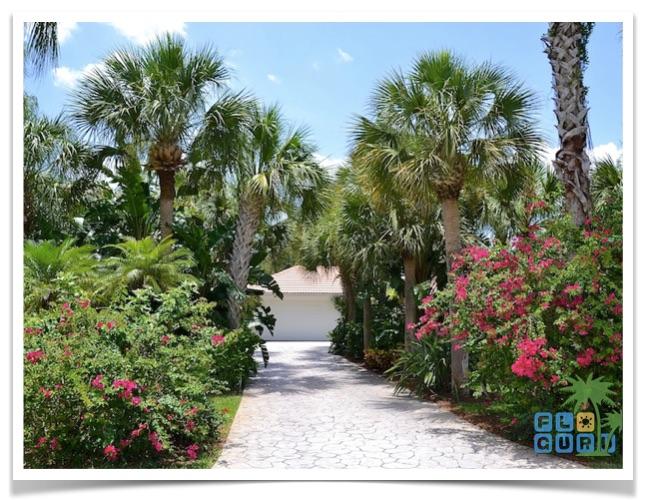 Florida-Ferienhaus-Lehigh-Acres-PalmGarden-02-Einfahrt