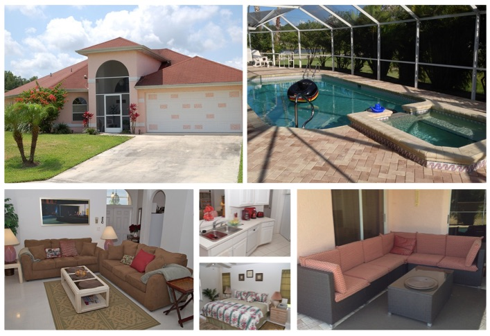 Florida Ferienhaus Sunshine in Lehigh Acres für bis zu 6 Personen