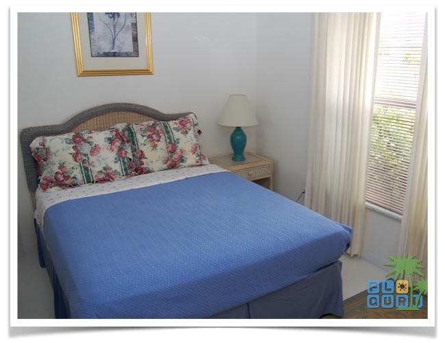 Florida Ferienhaus Sunshine in Lehigh Acres mit Blick in das Gästezimmer