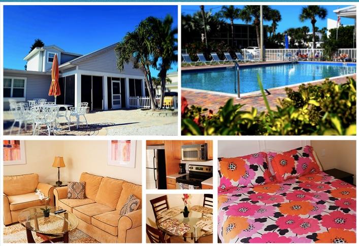 Florida Ferienwohnung auf Siesta Key nur 150 Meter vom Strand
