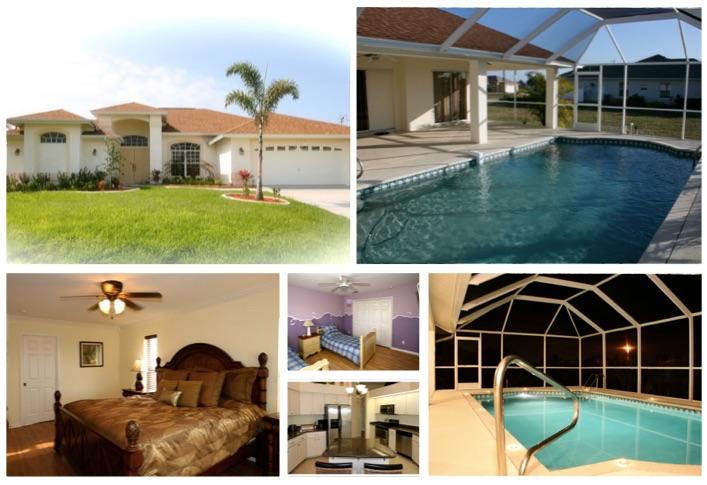 Florida Ferienhaus in Cape Coral für bis zu sieben Personen