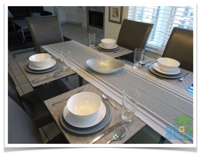 Florida Ferienhaus Summerwind in Bradenton Essbereich an der Küche