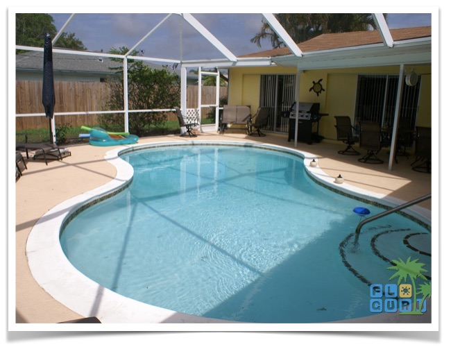 Florida Ferienhaus Cape Coral Casa Harmony 09 Poolbereich1