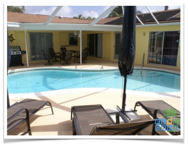 Florida Ferienhaus Casa Harmony Cape Coral Casa Harmony Poolbereich