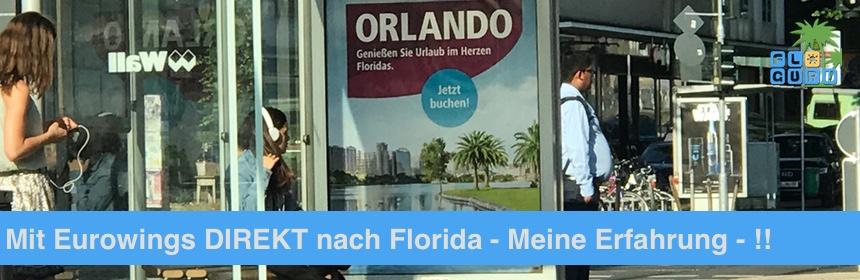 Mit Eurowings nach Florida Erfahrungsbericht