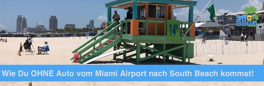 Von Miami Flughafen Nach South Beach