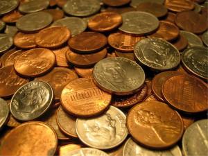 Kleingeld als Tip bzw. Trinkgeld in den USA