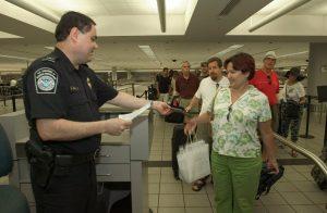 Einwanderung USA - Abschlusskontrolle nach der Einwanderung in die USA