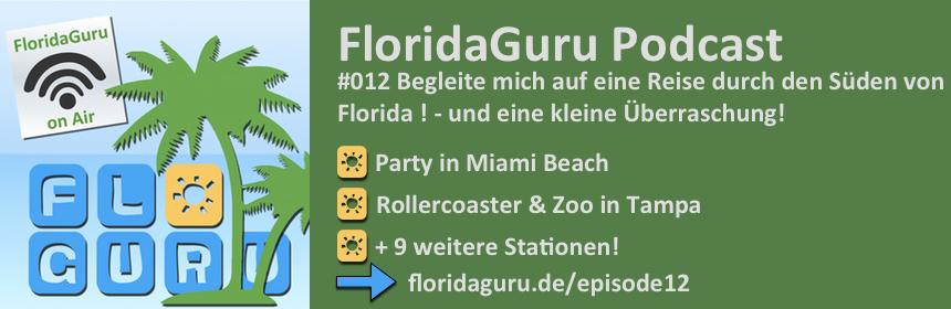 Begleite mich auf einer Rundreise durch Florida