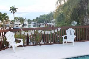 Hochzeitsfeier in Florida
