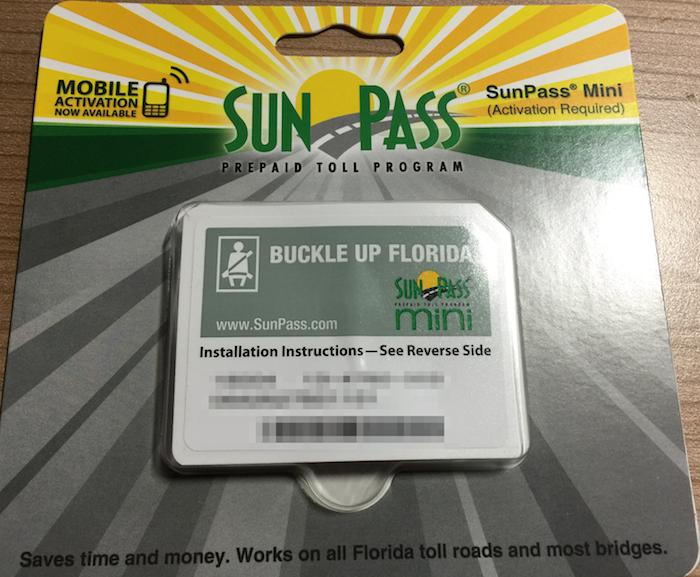 Der Sunpass Mini die ideale Maut Lösung