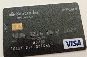Kreditkarte USA Santander