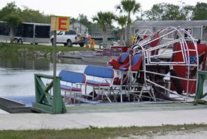 Florida mit Kindern Airboat in den Everglades