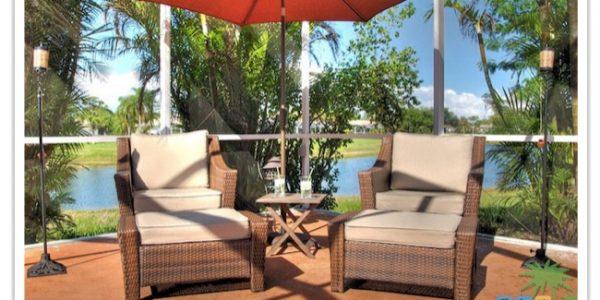 "Florida Ferienhaus in Lehigh Acres ""Causeway"" mit Blick zur Chillingzone"