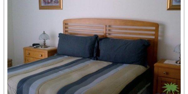 Florida Ferienhaus Rita in Lehigh Acres mit Blick ins Schlafzimmer