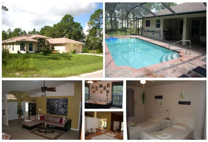 Florida Ferienhaus Rixey in Lehigh Acres für bis zu 6 Personen