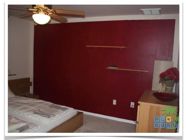 Florida Ferienhaus Rixey in Lehigh Acres mit Blick in ein Gästezimmer