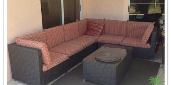 Florida Ferienhaus Sunshine in Lehigh Acres mit Blick auf die Chillingzone