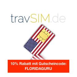 10% Rabatt auf US Reise SIM Karte