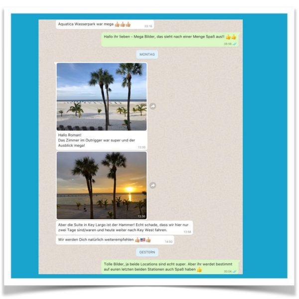 Florida Urlaub Feedback 11